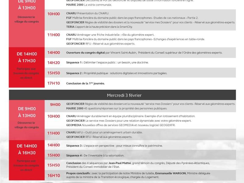 Congrès Digital des Géomètres-Experts 2021